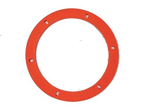 - Lennox OEM Round Orange Silicone Exhaust Motor Gasket - 6