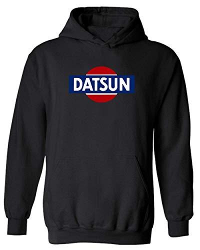 Datsun White Retro Logo Hoodie New! Hoodie 240z 260z 280z ZX 510 Fairlady (L)