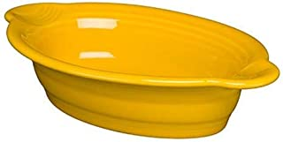 """product image for Homer Laughlin 9"""" x 5"""" Individual Oval Casserole, Daffodil"""