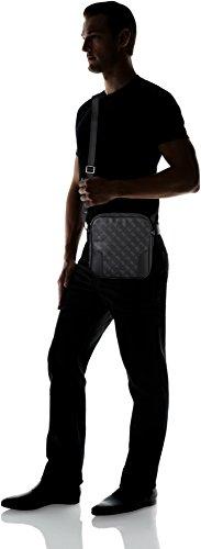 GUESS de y Crossbody Black bolsos Bags Hombre Shoppers Negro hombro rAvfwrnqxB