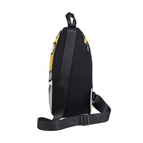 Audio Bag Bennigiry Men Retro Backpack For Chest Music amp; Women Shoulder Sling Cassette Crossbody Bags One FF5rxwOv