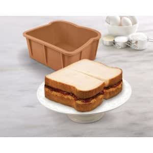 Amazon Com Cakewich Cake Mold Sliced Bread Shape Silicone