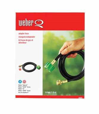 weber adapter hose 6501 - 1