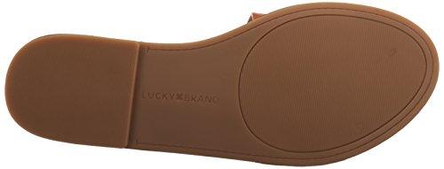 Cuir Brand Café Anika Lucky Sandale Oqnxw44p