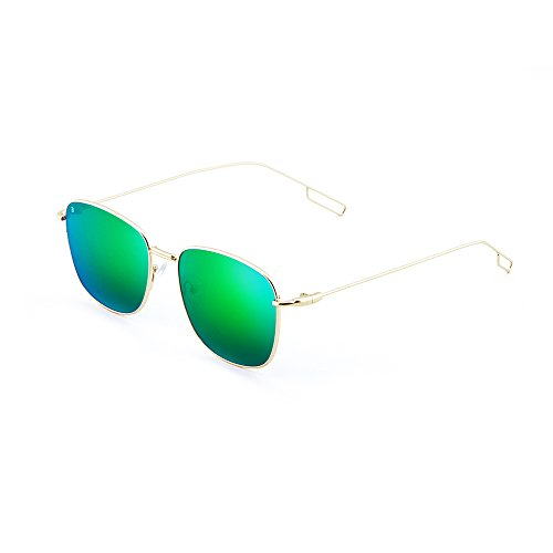 TANNING Verde mujer Oro Gafas espejo de TWIG sol degradadas hombre qwn4ztTzP