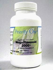 Priority One Mega Flavonoid 2000 120 Tabs by Priority One