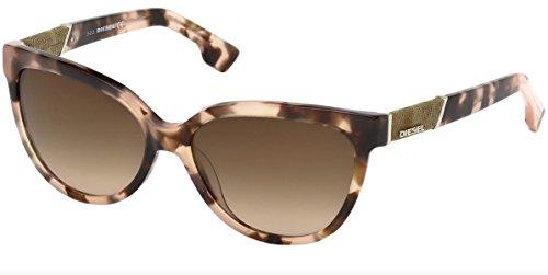 Sunglasses Diesel DL 102 DL0102 55Z coloured havana / gradient