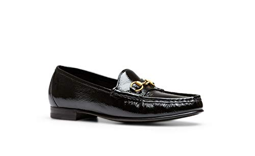 Gucci Men's '1953' Patent Leather Horsebit Loafer, Black (Nero) (13 US / 12.5 UK)
