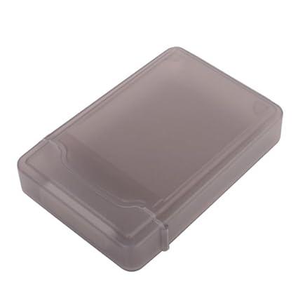 Caja Protectora Funda para Discos Duros IDE/SATA HDD 3.5 de Plástico