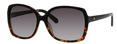 Kate Spade Women's Darilynn Square Sunglasses, Black Tortoise Fade & Gray Gradient, 58 - Store York Glasses New