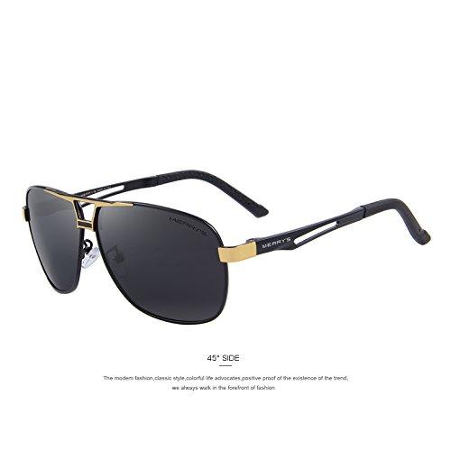 85d34bc313 Caliente de la venta TIANLIANG04 hombres clásico rectángulo gafas  polarizadas gafas polarizadas HD Gafas de conducción