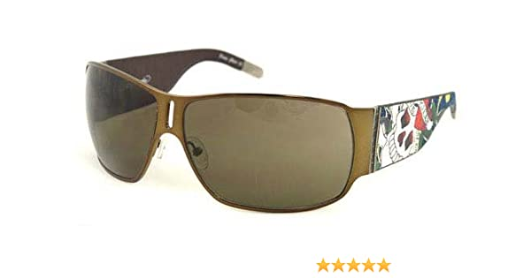 9f28fe3544772 Amazon.com  Ed Hardy EHS 012 Love Kills Slowly Sunglasses