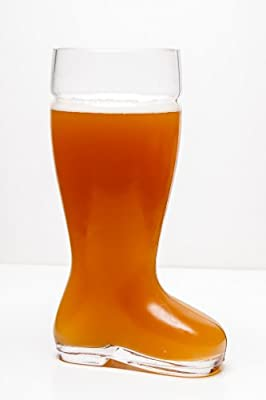 High Quality Oktoberfest Style Glass Beer Boot / Das Boot - Octoberfest Glass Beer Mug - 2 Liter