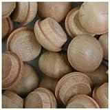 WIDGETCO 1/2'' Cherry Button Top Wood Plugs
