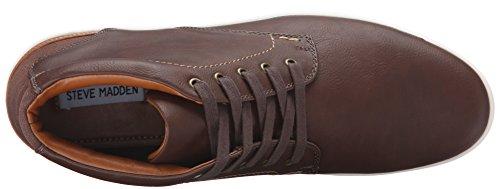Steve Madden Mens Sneaker Moda Marrone Freedomm