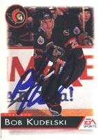 Bob Kudelski Ottawa Senators 1993 EA Sports Autographed Card. This item comes with a certificate of authenticity from Autograph-Sports. Autographed ()