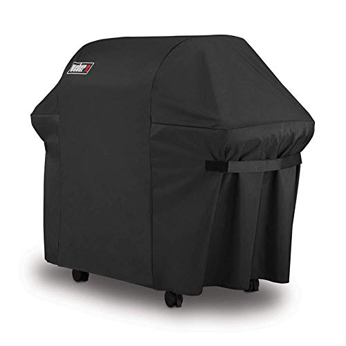 Genesis E310 Gas Grill - Weber 7107 Grill Cover for Weber Genesis E and S Series Gas Grills (60in X 24in X44in)