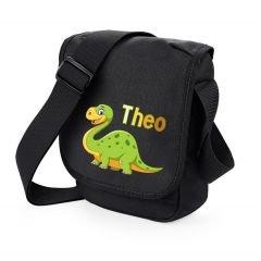 Kindergartentasche Dino mit Namen Pink BjAxx