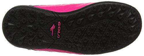 Gola Talos Vx Velcro, Zapatillas de Fútbol Unisex Niños Rosa (Pink/black/silver)