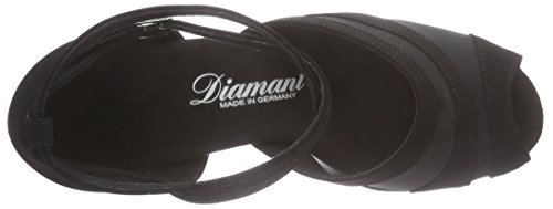 Latein Tanzschuhe de Noir Noir Danse Femme Damen Diamant Salon Chaussures 102 064 040 de HT5npCwqfx