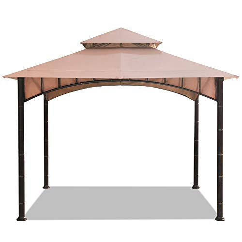 ABCCANOPY Patio Soft Top Gazebo Replacement 10'X10' Summer Breeze Cover for Gazebo Model D-GZ136PST-N Beige(Only ()