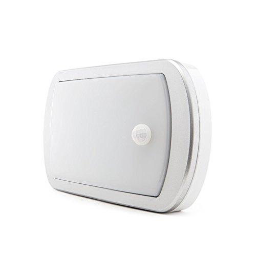 Luminaria/Aplique de LEDs para Exterior IP65 20W 1200Lm 30.000H con Detector de Presencia: Amazon.es: Iluminación