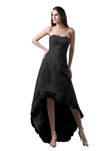 Trapecio Vimans Mujer Para Vestido Negro Bz5fzTn4