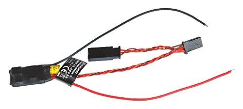 Graupner s8446–Voltage Módulo con sbec 22,2V para HoTT, Negro