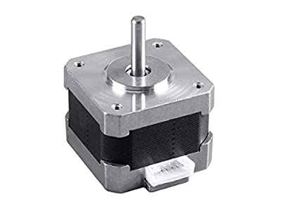 Monoprice Delta Mini Extruder Stepper Motor | Replacement/Spare Parts for Selective 3D Printers