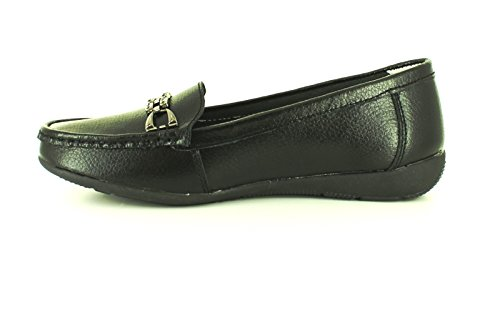 3 Soft Black UK Black New So Dierdre Ladies Ever Womens Loafer 8 Sizes Shoes 4qwanf7xx