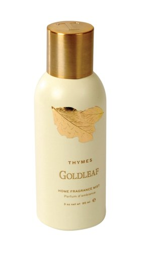Thymes Gold Leaf - Thymes Home Fragrance Mist, Goldleaf, 3-Ounce Cans