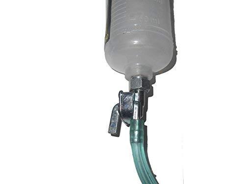300 ml Petcock Dep/ósito de combustible para bicicleta Auxiliary Bsa New Fuel Tank