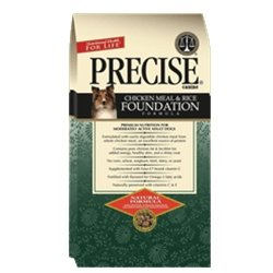 Precise 726015 Canine Foundation Dry Food for Pets, 15-Pound