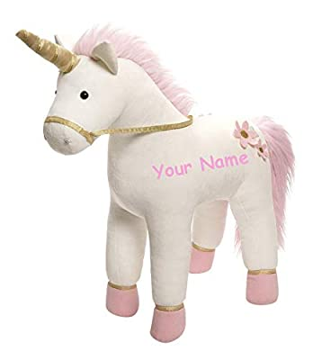 GUND Personalized Llyrose Unicorn Stuffed Animal Plush Toy - 13 Inches