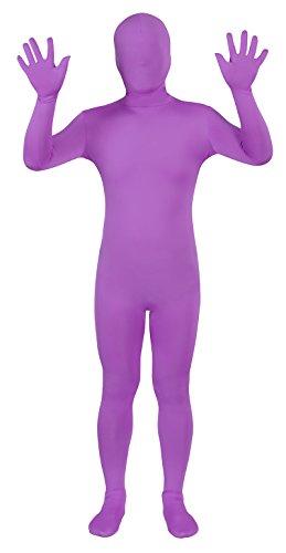 Purple Morph Suits (Sheface Spandex Full Bodysuit Zentai Costume (Large, Light Purple))