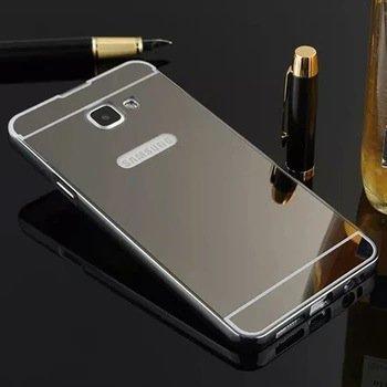 quality design 753b5 46f76 MVE(TM) FOR SAMSUNG GALAXY J5 PRIME Luxury Metal Bumper + Acrylic Mirror  Back Cover Case For SAMSUNG GALAXY J5 PRIME - GREY