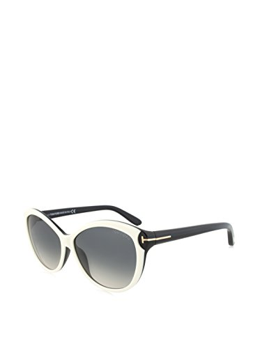 Tom Ford Telma Tf325 Sunglasses Ft 325 Authentic Cat Eye Glasses 25b - Sunglasses Tom White Ford