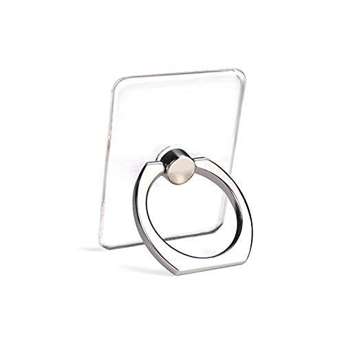 Amazon Com Transparent Cell Phone Ring Holder 360 Degree Rotation