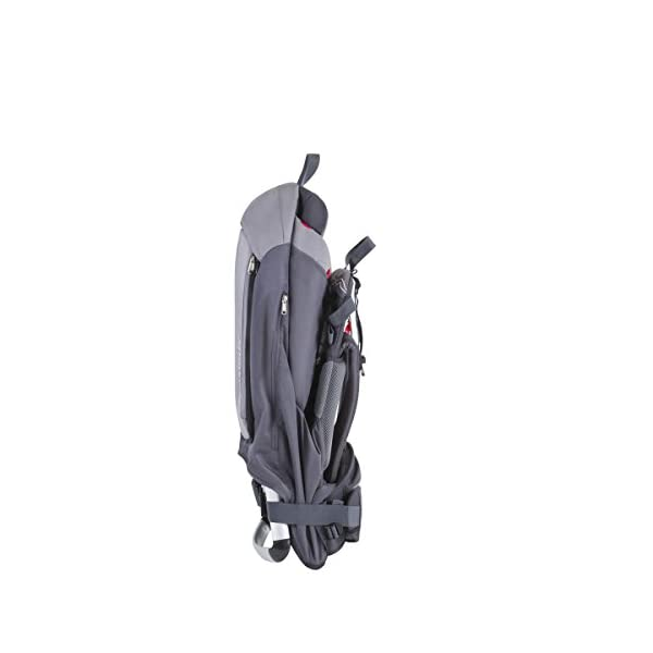 phil&teds Escape Baby Carrier, Charcoal/Charcoal 2