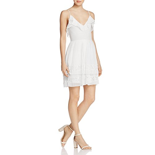 French Connection Cocktail - French Connection Women's Adanna Pleat Jersey Dress, Summer White, 8