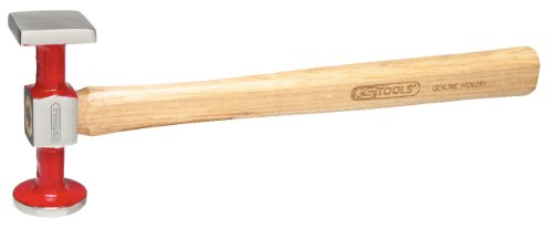 SK Hand Tool Panel beaters standard hammer curved head, large round/square, 325mm by SK Hand Tool (Image #1)