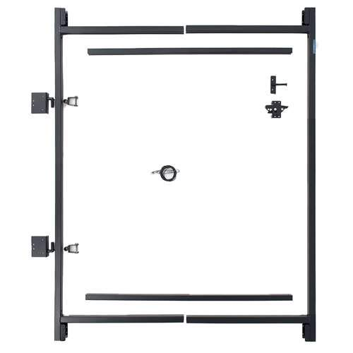 "Adjust-A-Gate Steel Frame Gate Building Kit (36""-60"" wide openings, 5"