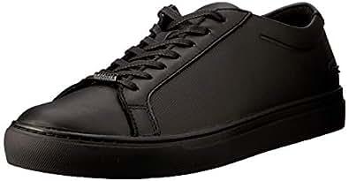 Lacoste L.12.12 119 2 Men's Fashion Shoes, BLK/BLK, 7 US