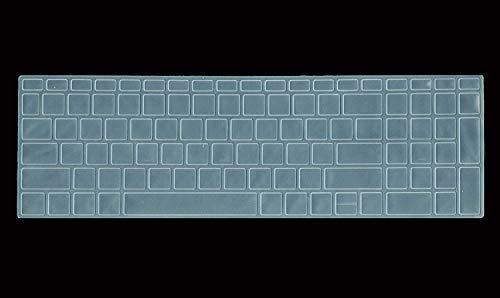 Saco Keyboard Protector Silicone Skin Cover forHP Pavilion Gaming DK0271TX Laptop – Transparent