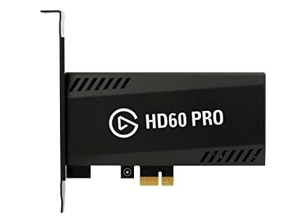 Elgato Game Capture HD60 Pro, Invia Streaming e Registra il Gameplay della Xbox/PlayStation/Wii U, 1080p60, Nero