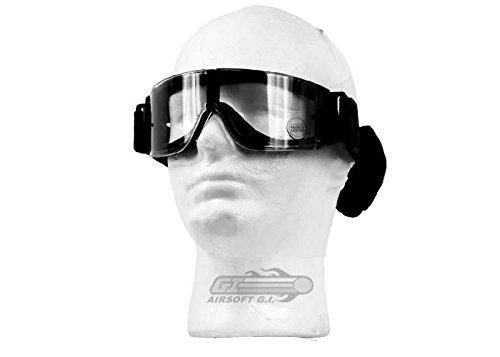 Lancer Tactical Airsoft Safety Goggles, Frameless by Lancer Tactical
