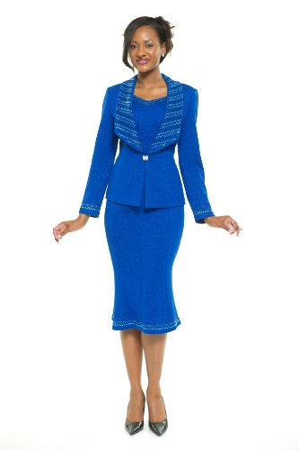 Amazon.com: Divas Couture Women's Business Skirt Suit 1855: Clothing