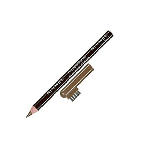 Rimmel London Professional Eyebrow Pencil 002 Hazel (Pack of 3) ()