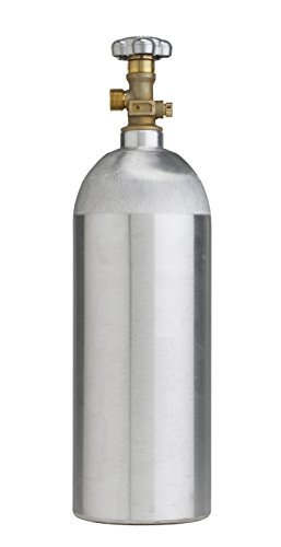 5lb co2 Tank- New Aluminum Cylinder with CGA320 - Paintball Part