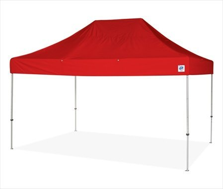 The EclipseTM II 15 Ft. W x 10 Ft. D Canopy Color: Red
